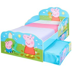 Lettino Peppa Pig con contenitori, Moose Toys Ltd