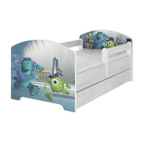 Lettino con barriera - Monsters s.r.o. - Arredamento in pino norvegese, BabyBoo, Monsters